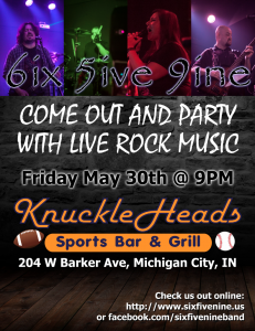659 Poster - 2014-05-30 KnuckleHeads