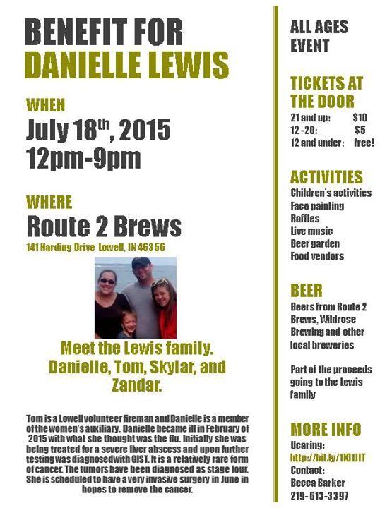 Danielle Lewis Benefit